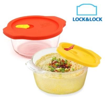 harga LOCK&LOCK 1+1 Egg Oven Glass 460ML Tokopedia.com