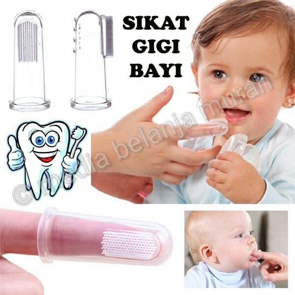 Jual Sikat Gigi Bayi Pembersih Gusi Mulut Bayi Baby Safety