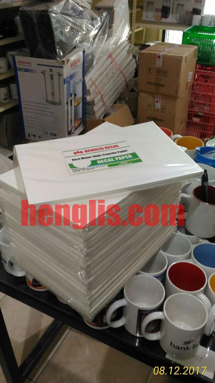 Jual Kertas Decal Water Slide Transfer Paper