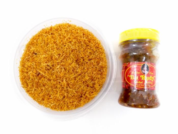 harga Paket serundeng sambal bawang bu rudy oleh2 bu rudi surabaya Tokopedia.com