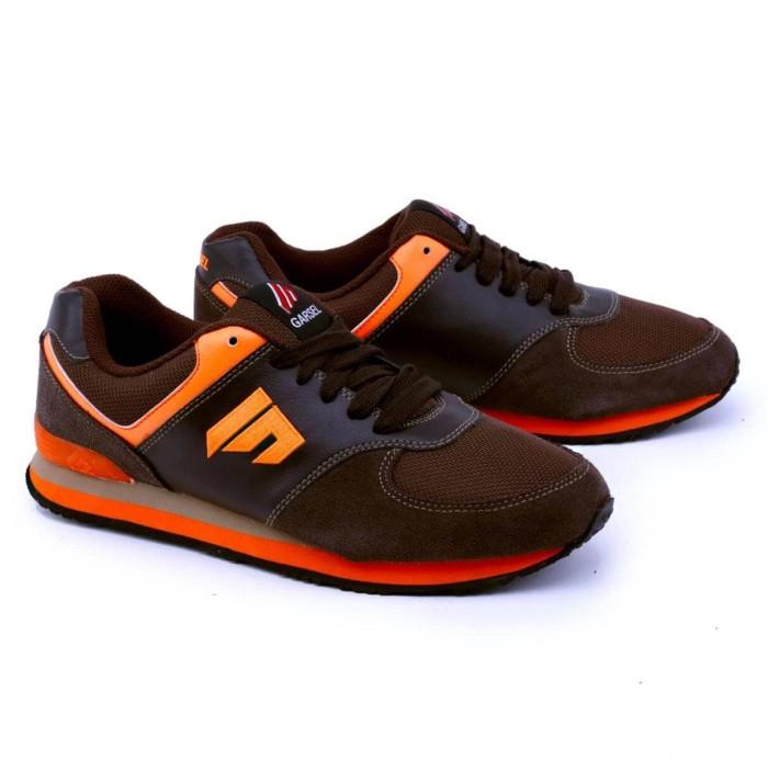 harga Sepatu olahraga / sport / running pria coklat garsel tmi 1052 murah Tokopedia.com