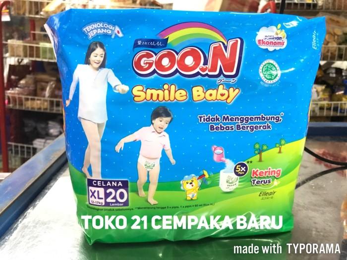harga Goon smile baby pants xl20  goo.n popok bayi celana xl 20 murah promo Tokopedia.com
