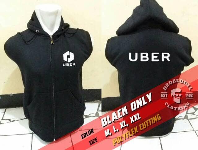 Foto Produk Jaket hoodie/ UBER/ ROMPI collection murah. size. s m l xl xxl dari petrok