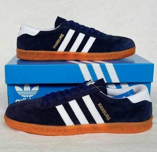 Jual Sepatu Adidas Hamburg Grade Ori Jakarta Barat Intel Shoes