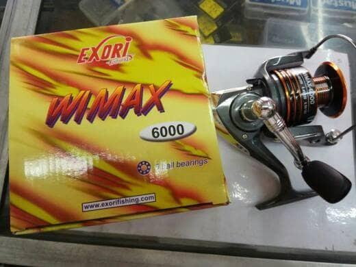 harga Reel pancing exori wimax 6000 Tokopedia.com