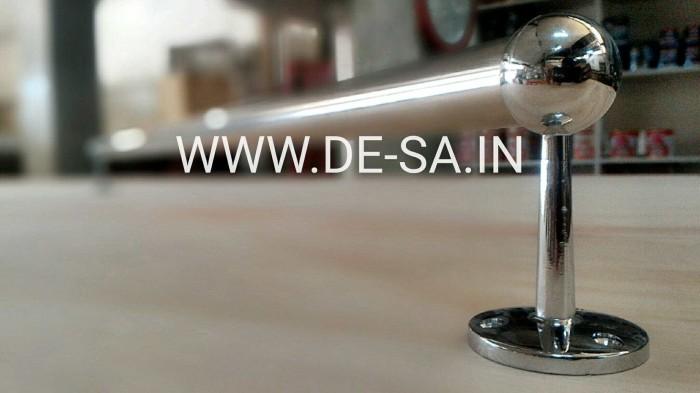 Pipa bulat stainless gantungan serbaguna 3/4  x 75cm
