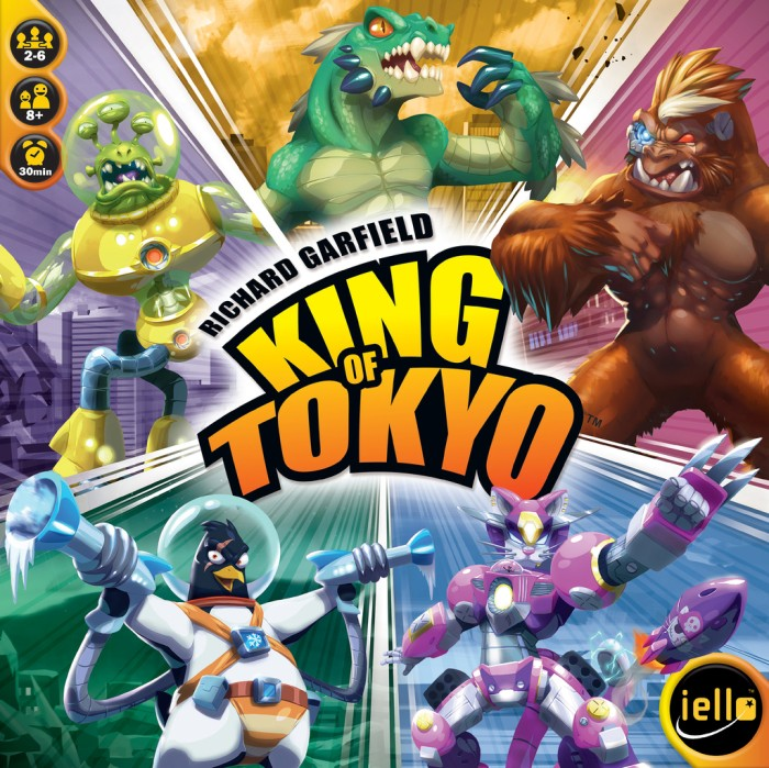 harga King of tokyo new ed Tokopedia.com