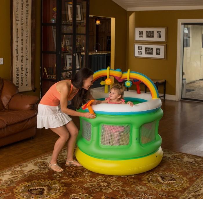 harga Bestway inflatable playpen 109cm area bermain & trampolin anak bayi Tokopedia.com