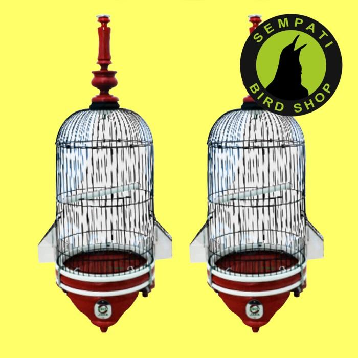 harga Sangkar kandang burung pleci lekuk warna ebod jaya Tokopedia.com