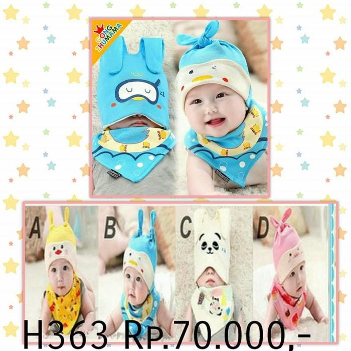 Jual H363 Kupluk Buat Bayi Perempuan Laki Laki Baru Lahir Lucu Adem Bagus Kota Tangerang Baby Gallery Tokopedia