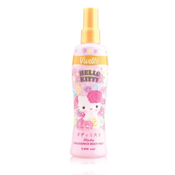 Jual Hello Kitty Body Mist Vivelle Dki Jakarta Vivelle Tokopedia