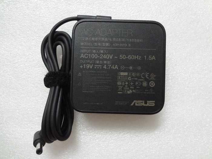 Adaptor Asus 19V 4.74A A43E A43S A43T A45 A52J A53 A55 A73T A75 A83 A8