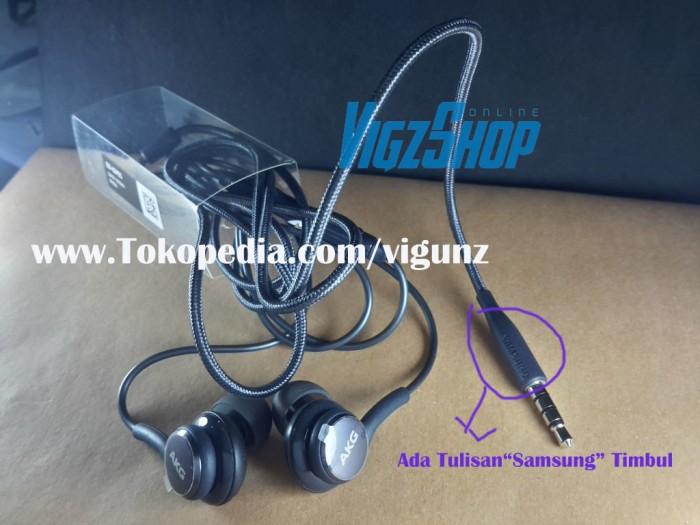 Headset Handsfree Samsung S8 S8 Plus By AKG Original 100%
