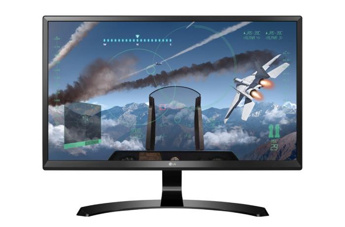 fa5962986bd ... harga Lg monitor uhd ips 24ud58-b 4k [free steelseries rival95]  Tokopedia.