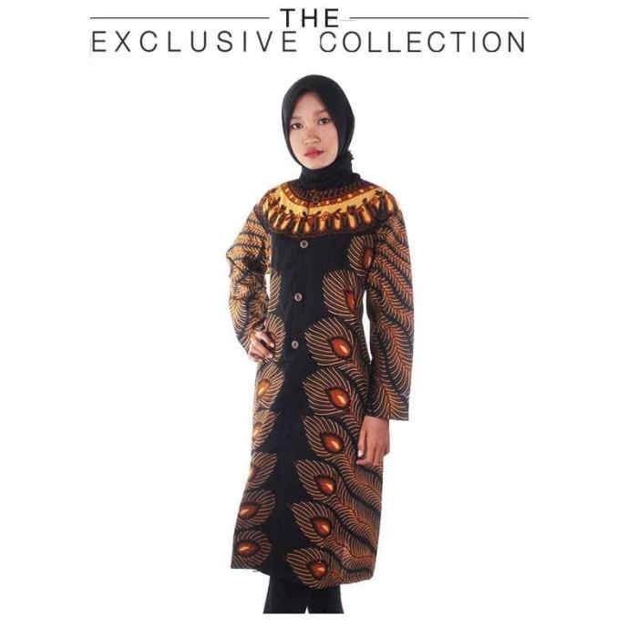 harga Blouse batik blus wanita tunik rina Tokopedia.com