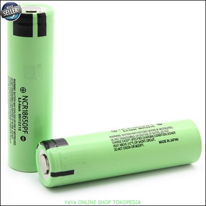 harga Baterai recharge / cas panasonic 18650 2900mah 3.6v flat top y2264 Tokopedia.com