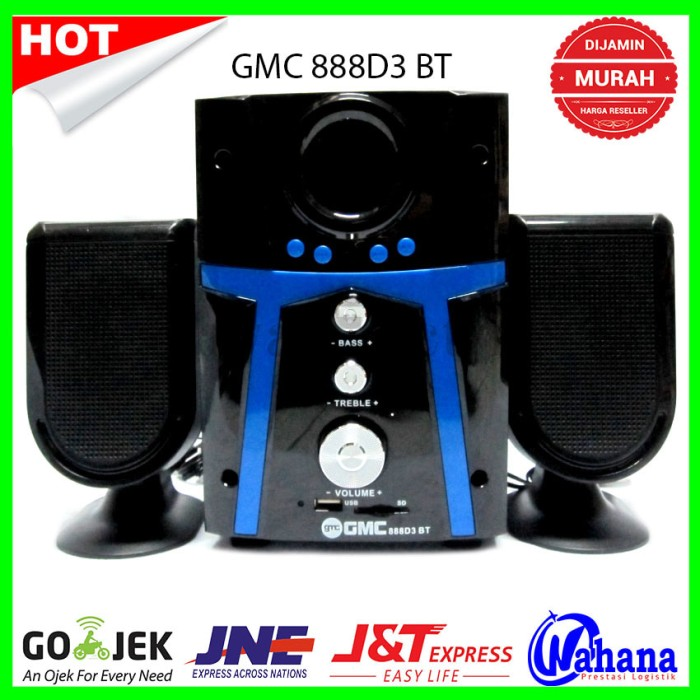 harga Speaker aktif gmc 888d3 bisa bluetooth Tokopedia.com