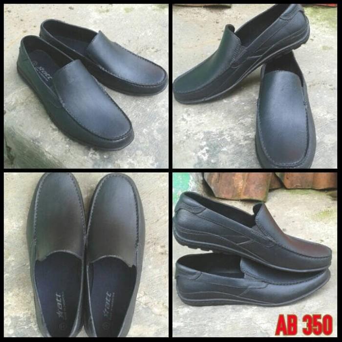 Sepatu Pria Laki kerja Kantor Formal Karet Pantofel ATT Anti Air Hujan 56181d7e5a