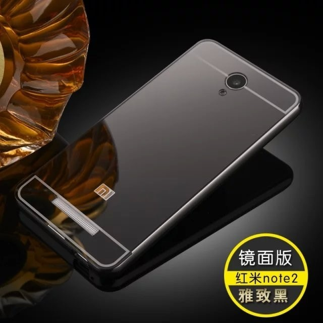 harga Casing mirror alumunium bumper xiaomi redmi note 2 prime hard case Tokopedia.com
