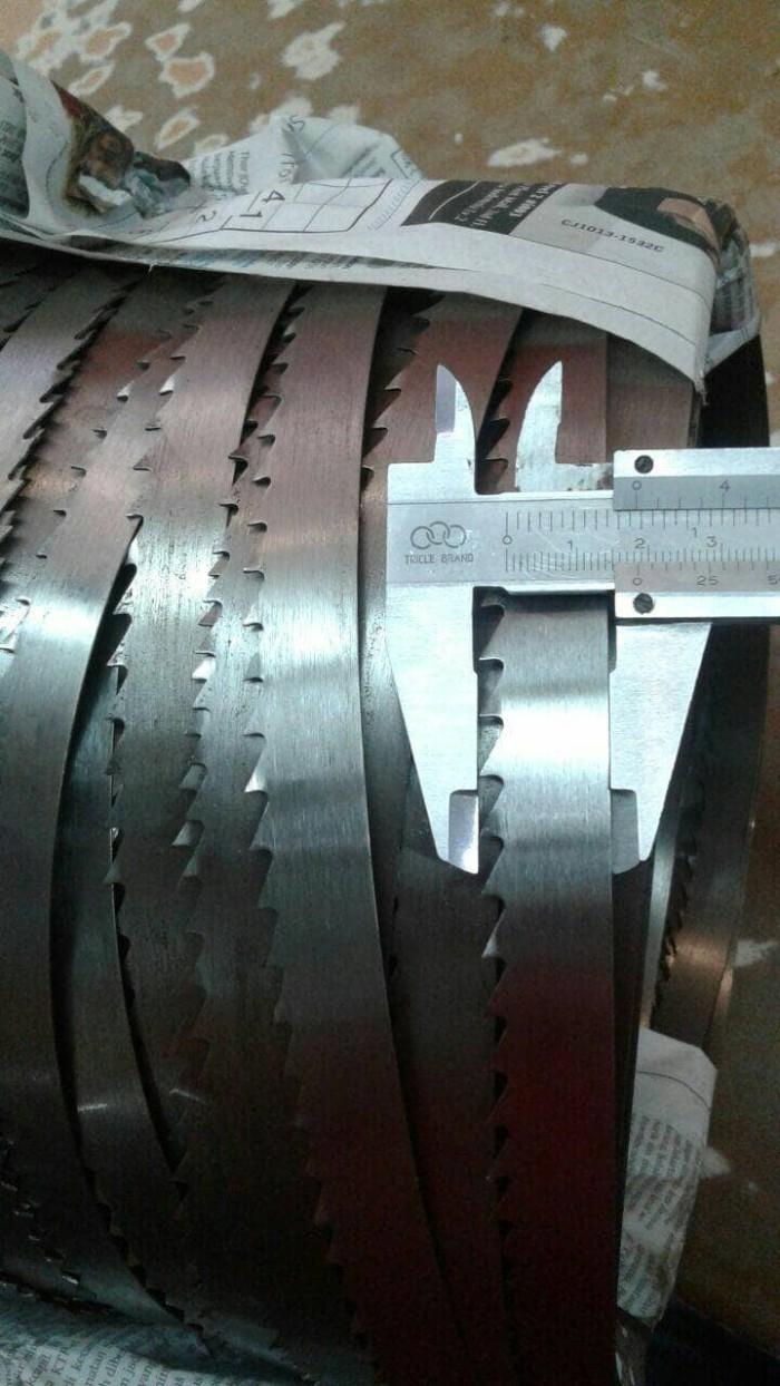 harga Mata band saw 3/4  lebar 19mm 235-237cm Tokopedia.com