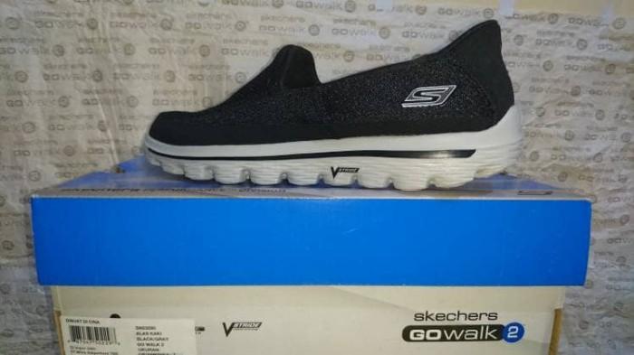 Jual Sepatu Skechers Men GoWalk 2 - Hitam - Hitam - rikishiin ... d0f7aa21b1