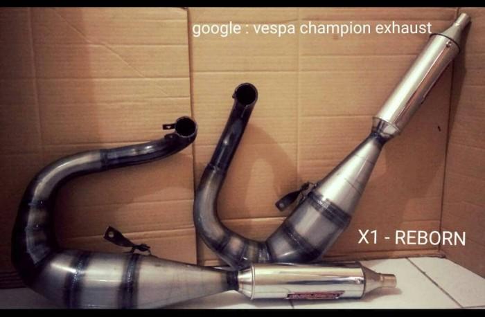 harga Knalpot vespa racing kiri x1 reborn Tokopedia.com