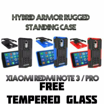 XIAOMI REDMI NOTE3 / NOTE 3 PRO SLIM ARMOR RUGGED CASING WITH STAND KI