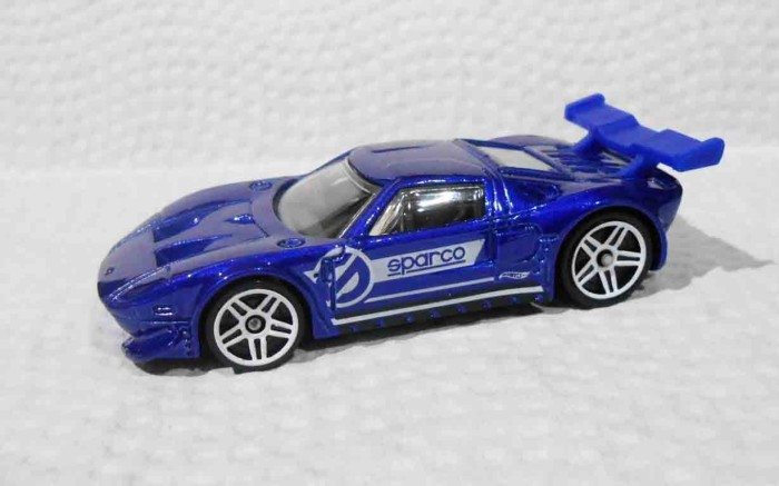 Hot Wheels Ford Gt Lm Loose