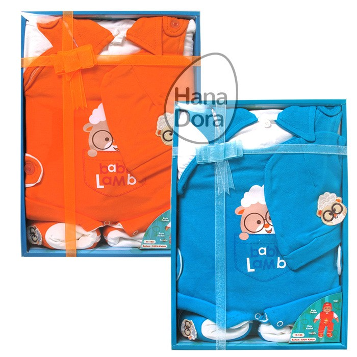 harga Kiddy baby set kd11165 isi 4pcs - 3-6 bulan orange Tokopedia.com