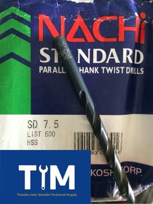 harga (nachi) mata bor besi hss 7.5mm Tokopedia.com