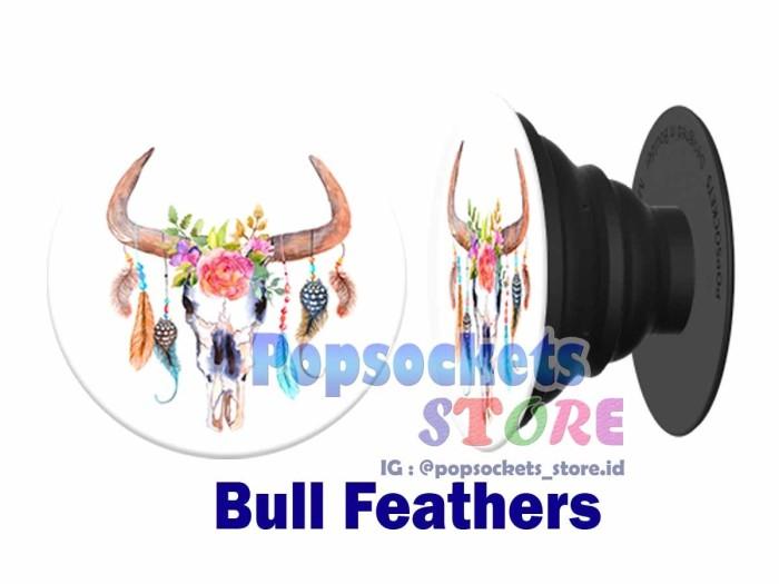 Popsockets 'bull feathers' (pengganti iring) - popsocket