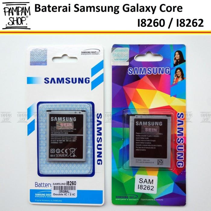 harga Batre / baterai / battery / batrai handphone samsung core duos i8262 Tokopedia.com