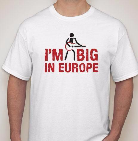 Kaos Tshirt Im Big In Europe