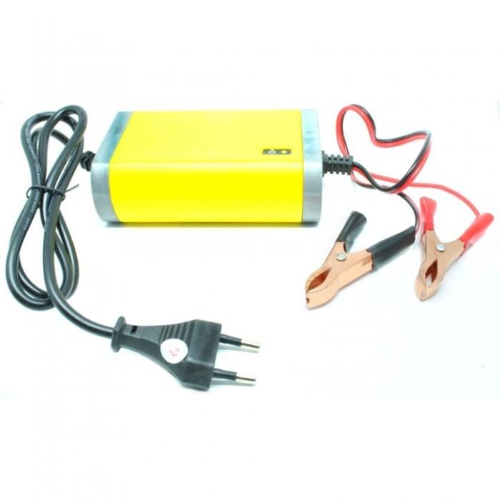 harga Alat cas aki motor mobil portable battery charger car eu plug 12v 2a Tokopedia.com