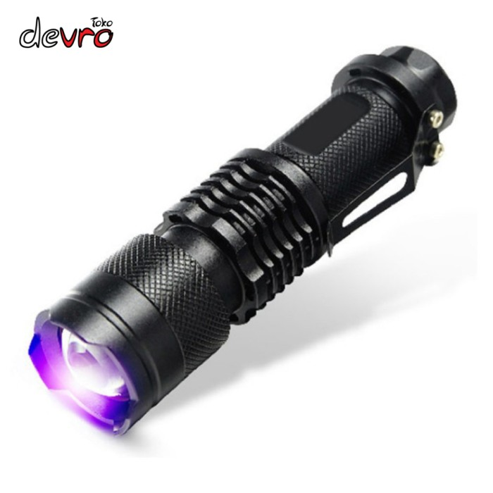 harga Senter led uv ultraviolet 395nm - untuk cek uang palsu dll Tokopedia.com