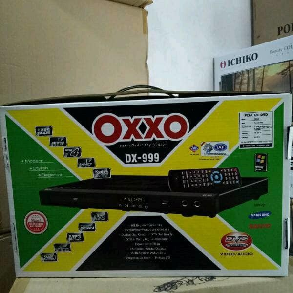 harga Oxxo dvd player alat pemutar kaset cd dvd vcd mp3 mp4 karaoke Tokopedia.com