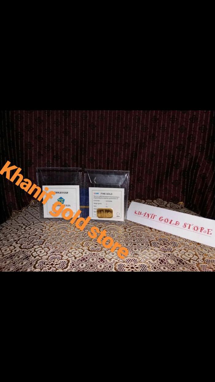 Jual Promo Emaslogam Mulia Batangan Antam 10gr Khanif Gold Voucher Belanja Lm 7 Gram