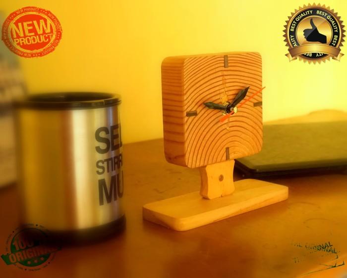 harga Jam meja kayu unik murah i Tokopedia.com