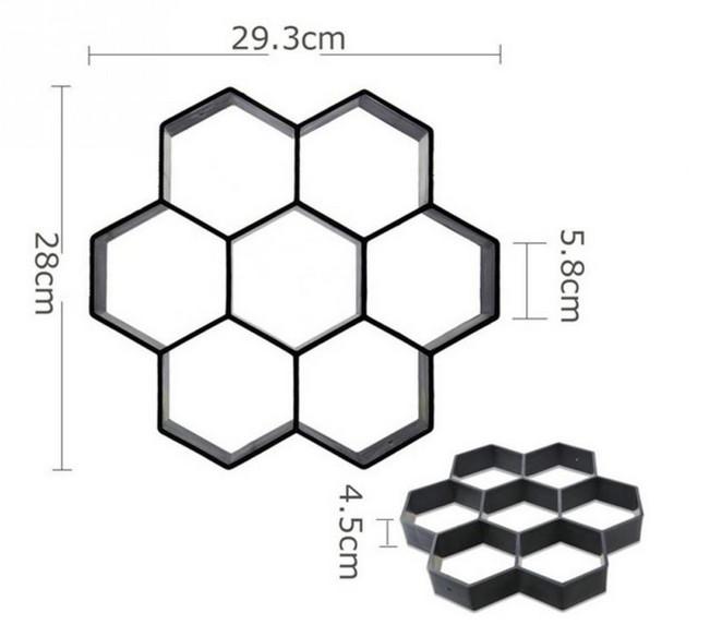 harga Cetakan Paving Blok Atau Cetakan Semen Paving Blok Hexagonal Tokopedia.com