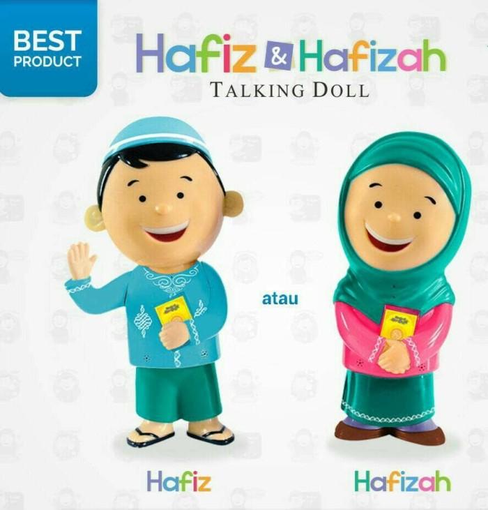 Jual Termurah Boneka Ngaji Hafiz Hafizah Talking Doll