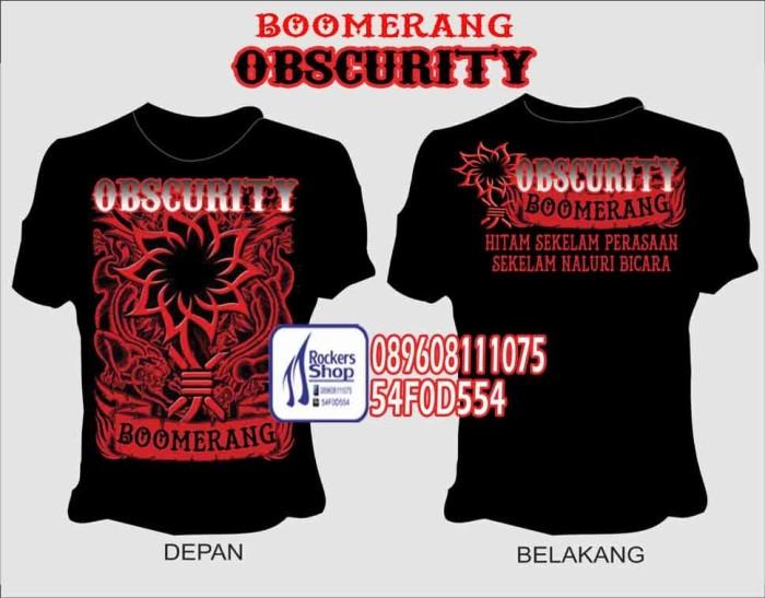 harga Kaos boomerang obscurity obskuriti boomers roy ivan henry faried Tokopedia.com