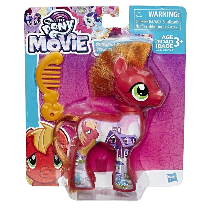 harga My little pony the movie big macintosh 3 inch figure hasbro Tokopedia.com