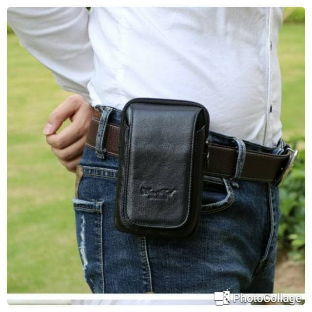 harga Dompet hp kulit tas handphone sarung hp 5inc hitam Tokopedia.com