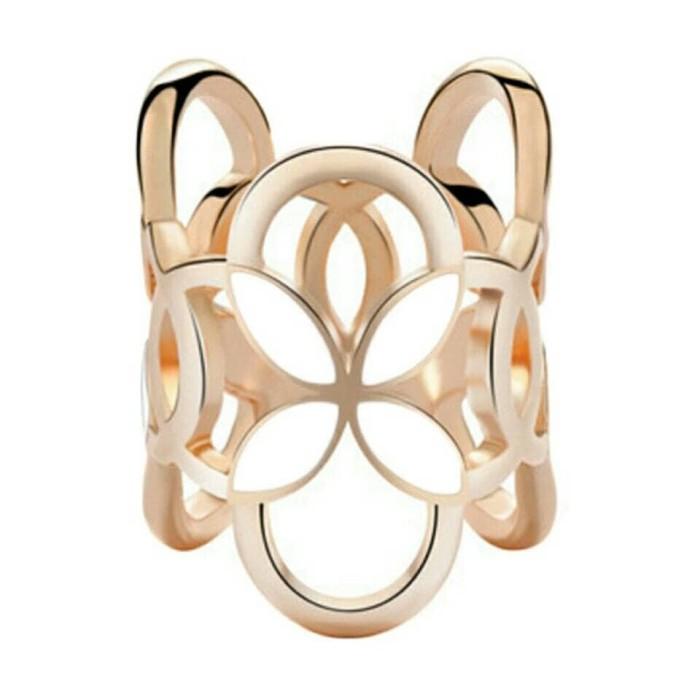 Foto Produk cincin / ring hiasan jilbab / syal / kerudung putih dari Dinia store