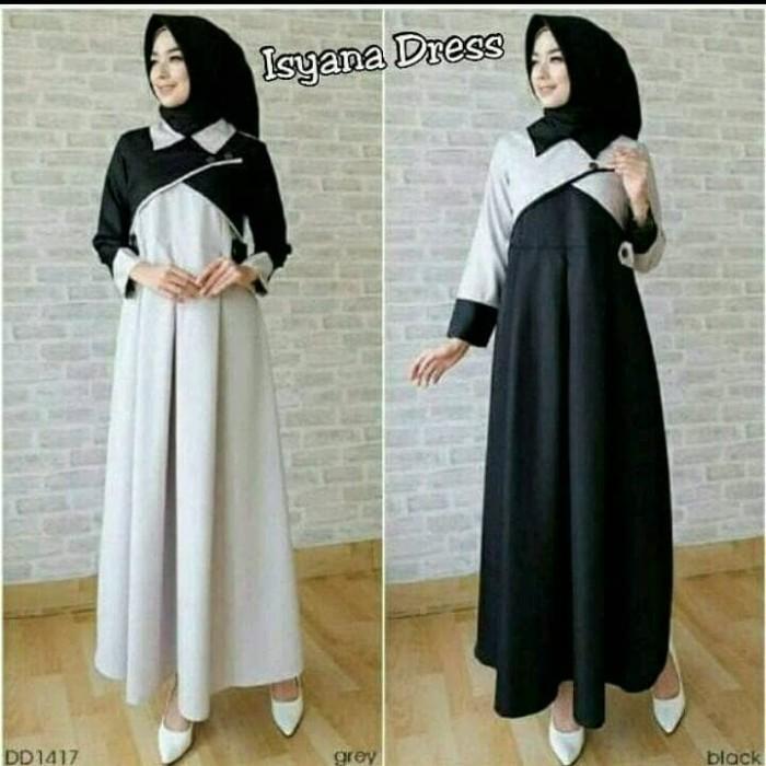 Jual Baju Dress Wanita Muslim Murah Code Mf80008 Merapistore