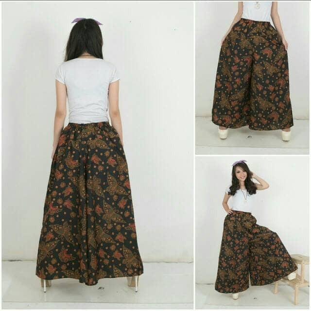 ... harga Celana kulot blabut long pant batik jumbo Tokopedia com