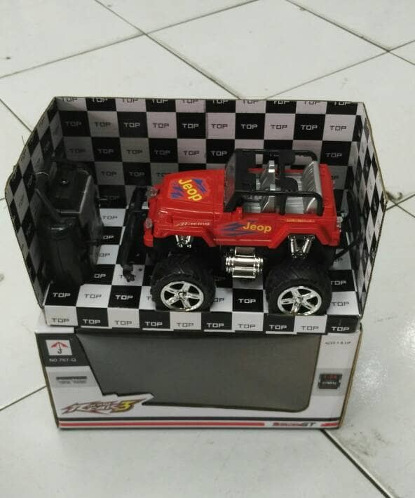 harga Mobil rc jeep/bigfoot 1:24 Tokopedia.com
