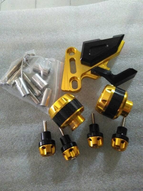 harga Satu paket kaliper jalu as baut knalpot aksesoris motor nmax aerok Tokopedia.com