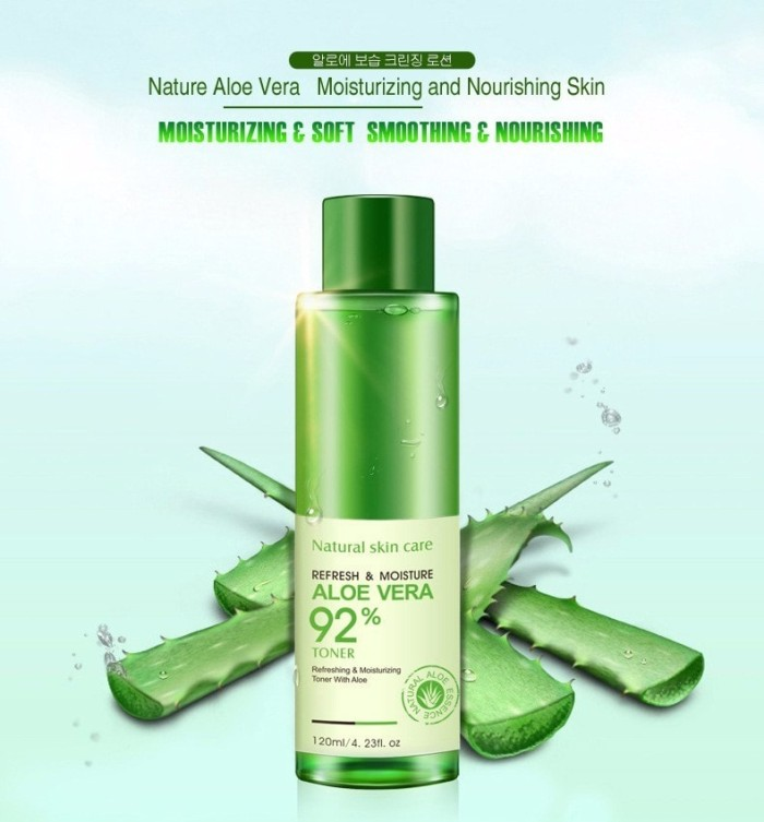 Bioaqua Natural Face Toner Aloe Vera Moisturizer Skin Care - Blanja.com