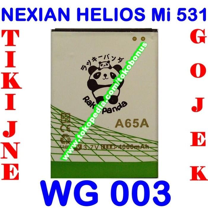harga Baterai nexian helios mi531 wg003 rakki panda batrai batre battery Tokopedia.com